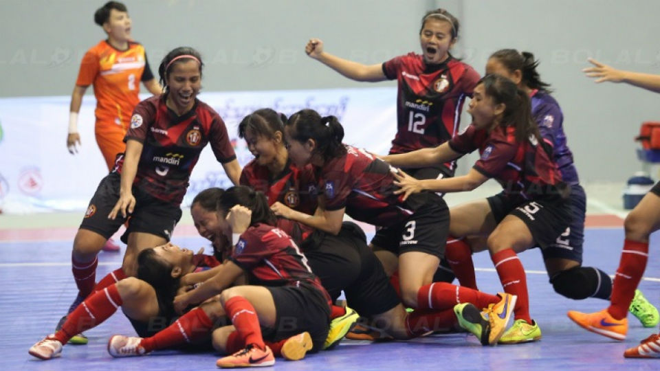 Jaya Kencana Angles, Tim Futsal Wanita asal Indonesia Juara Piala Antarklub Futsal AFF 2016