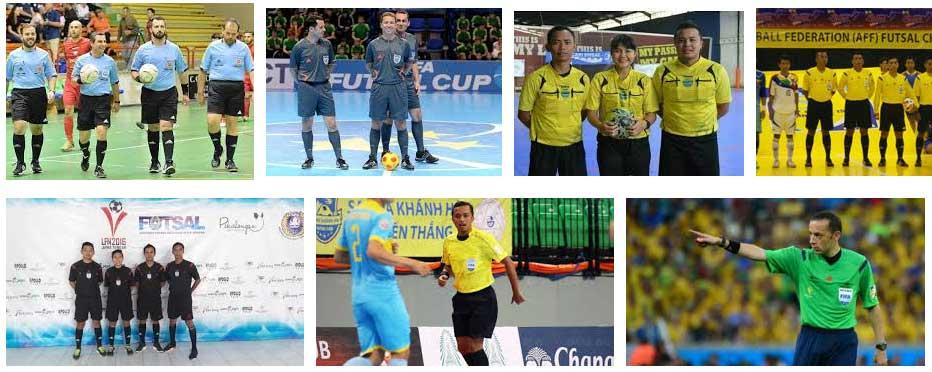 wasit di pertandingan bola Indonesia